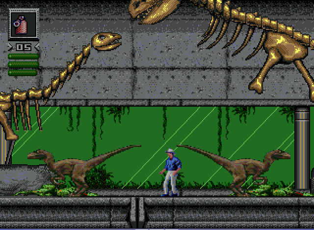 Jurassic Park - The last level - User Screenshot